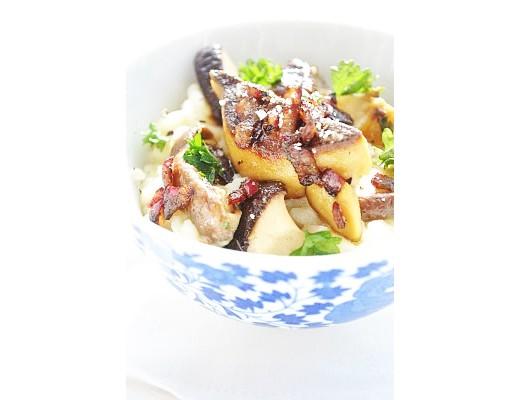 risotto foie gras