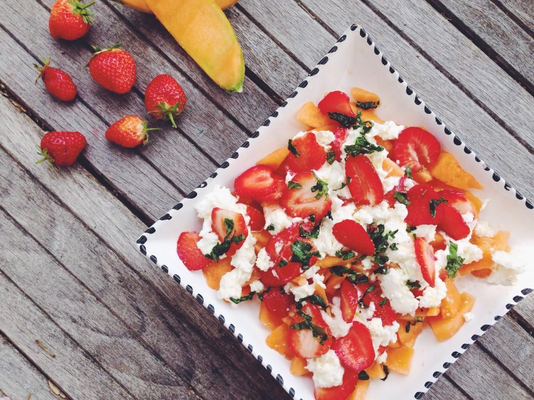 melon mozza fraise